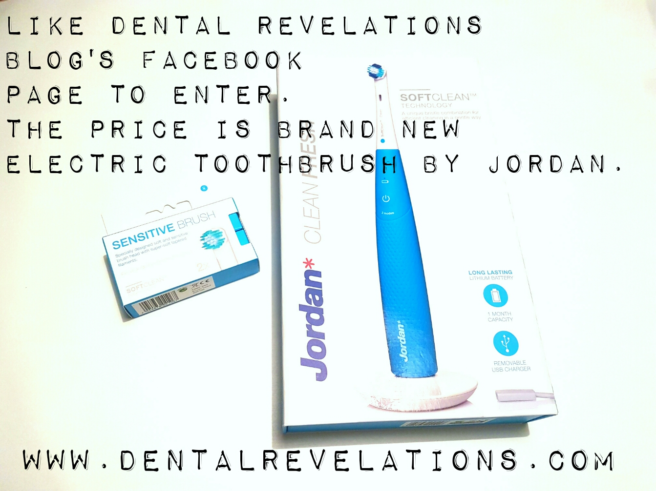 Hyggelig Enter to Win Jordan Clean Fresh Electric Toothbrush | Dental VF-64